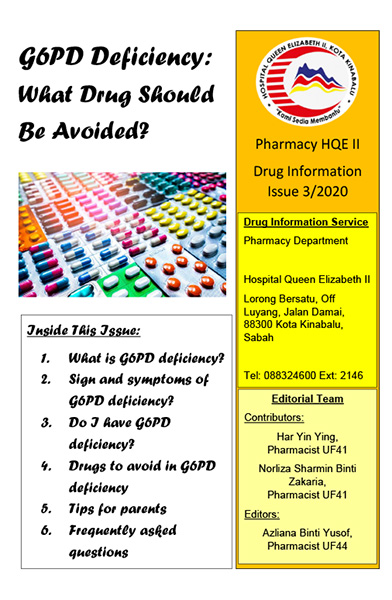 Pharmacy Drug Information Leaflet Issue 3 2020